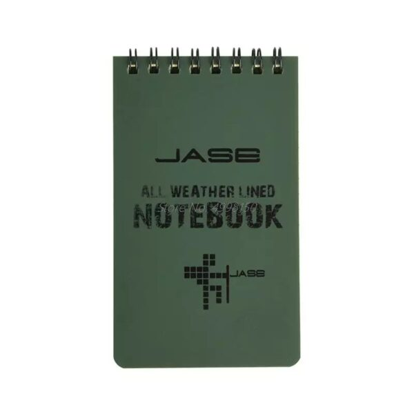 Outdoor Military Notebook, All Weather Waterproof,