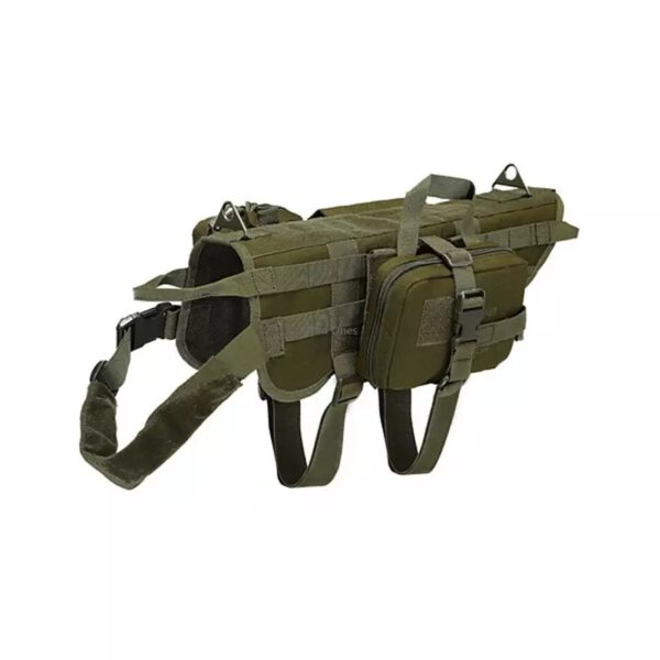 Dog Vest tactical gear green color