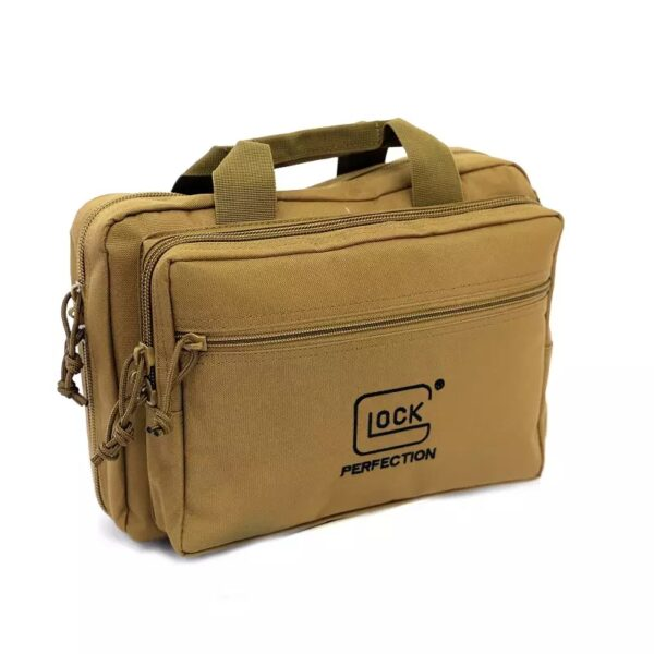 Tactical case for 2 Glock pistols
