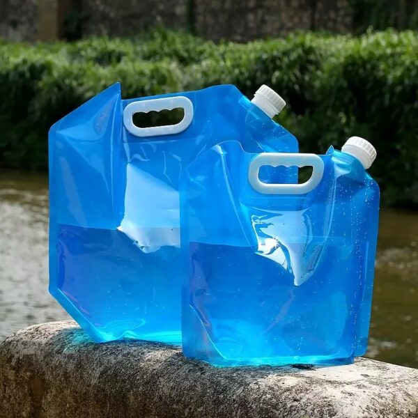 Blue Color Foldable Portable Water Bags