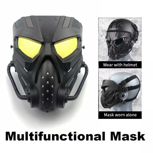 Multifunctional Airsoft Masks PC Len Skull Paintball