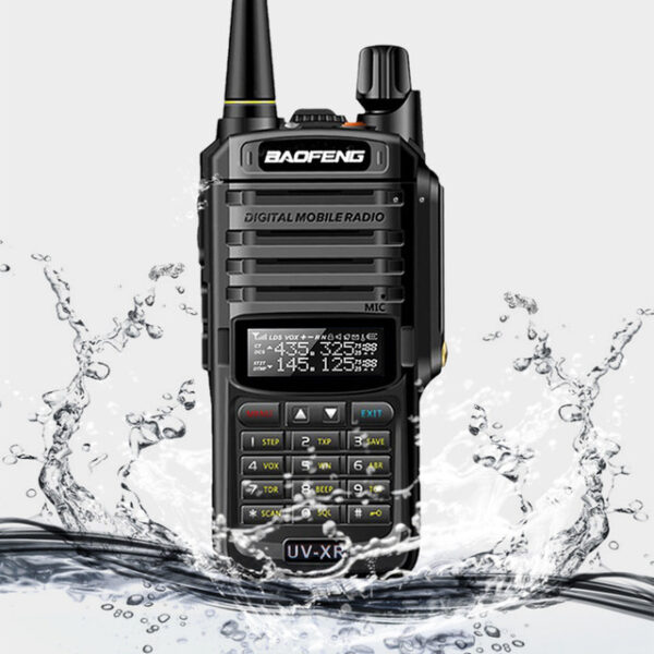 Powerful Walkie Talkie CB UV-XR, 10W Long Range Handheld Radio Set