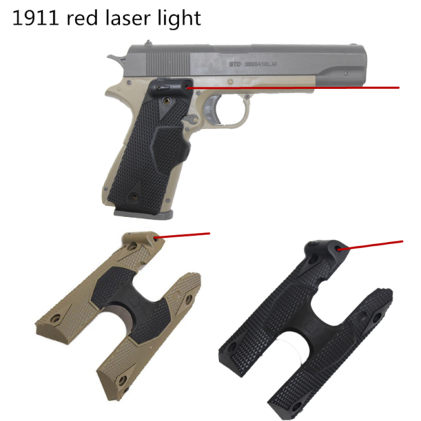Military tactical red dot laser sight, 1911