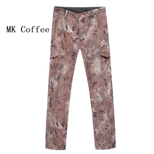 MK coffee camouflage tactical pants