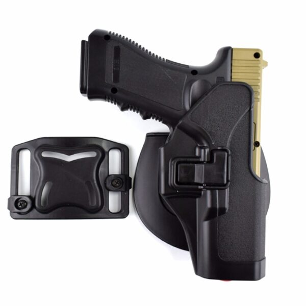 Black Glock military holster set + platform