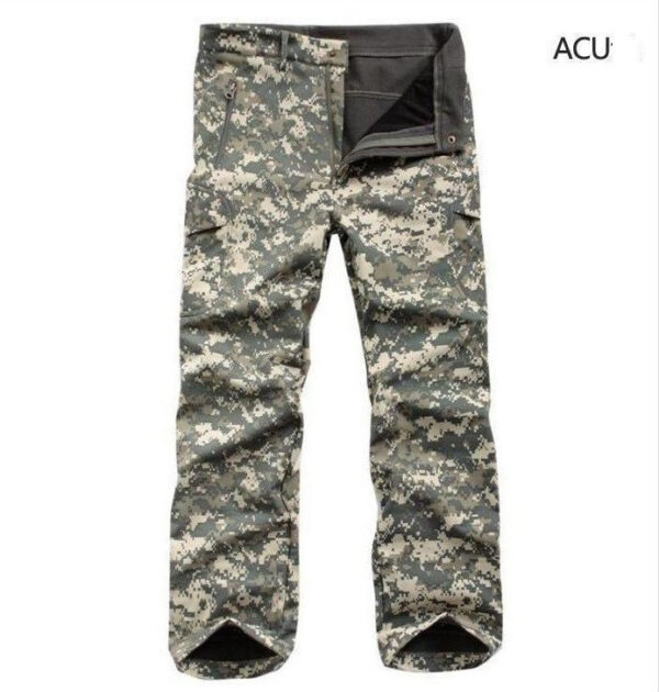 ACU camouflage tactical pants