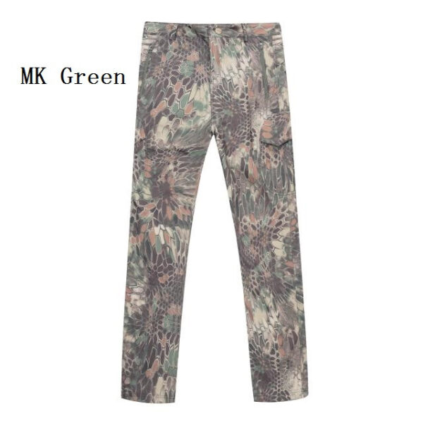 MK green camouflage tactical pants