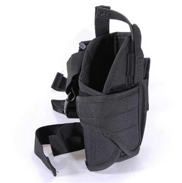 Tactical Thigh Pistol Holster Black