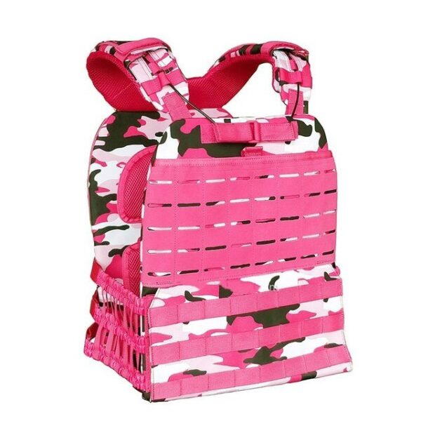 Tactical Vest Pink Camouflage