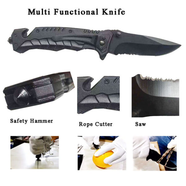 This knife is a multi tool.