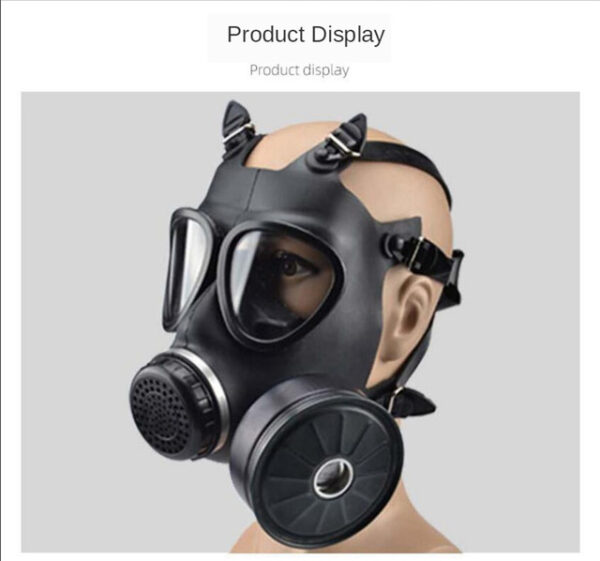 Gas Mask Classic Military Style Edition Chemical Gases
