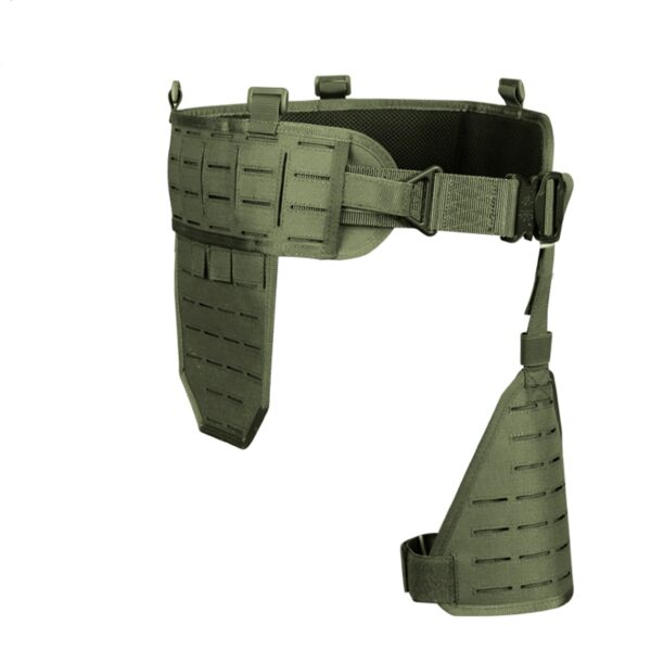 Green MOLLE tactical belt