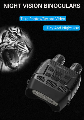 Long Distance Digital Night Vision Binoculars with Video Recording