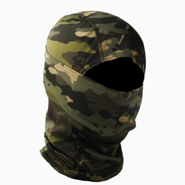 Green Balaclava Camouflage Tactical Mask