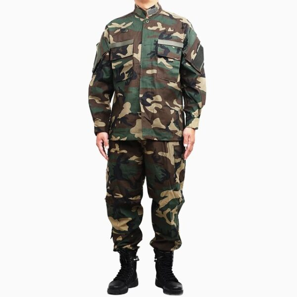 Military uniform camouflage normal for men