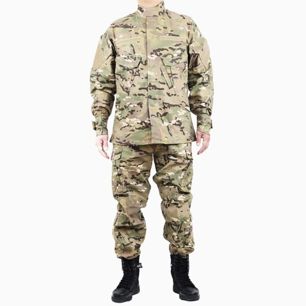 Military uniform camouflage multicam