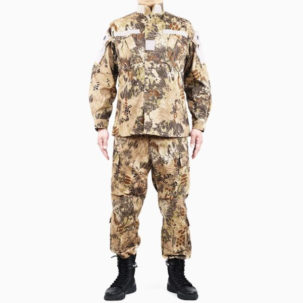 Military uniform camouflage highlander