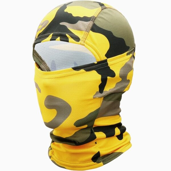 Balaclava Military Tactical Yellow Camouflage