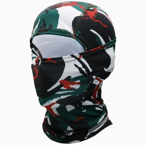 Balaclava Military Tactical camouflage black Green