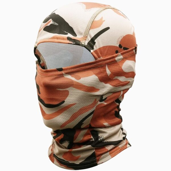 Balaclava Military Tactical camouflage beige orange