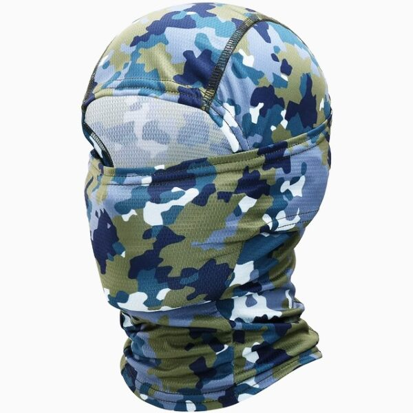 Balaclava Military Tactical camouflage blue and green