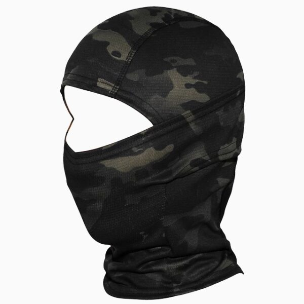 Military Tactical Balaclava black green camouflage