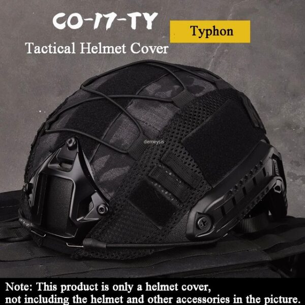 Typhon tactical helmet cover