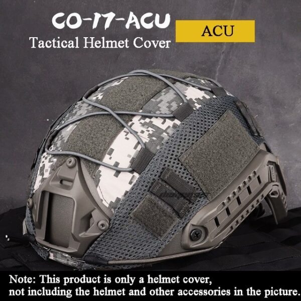 ACU camuflage tactical helmet cover