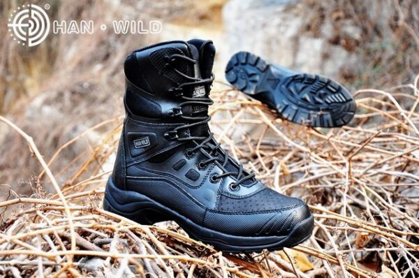 Military Tactical Hiking Boots Men Women Black