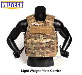 Lightweight plate carrier tactical vest