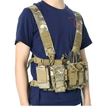 Tactical Chest Rig Bag Front Radio Harness