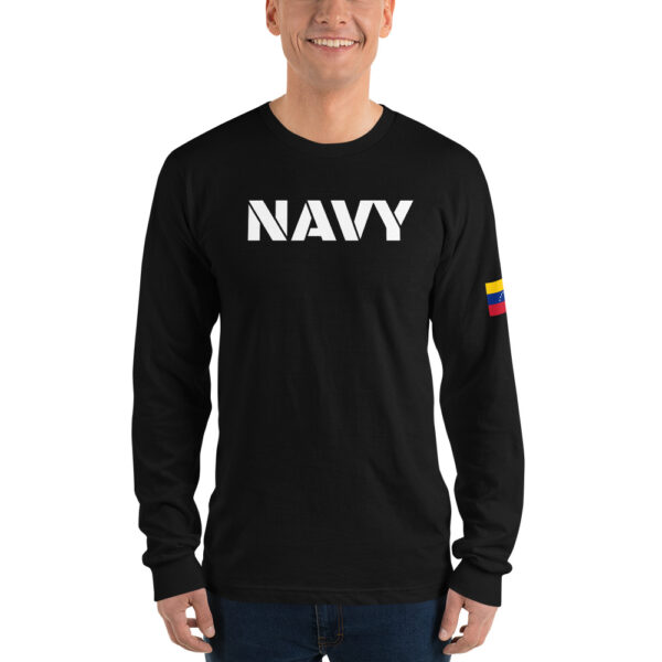 Long sleeve t-shirt Venezuelan NAVY
