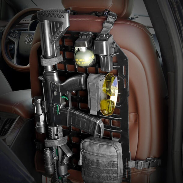 Tactical Car Back Seat Organizer