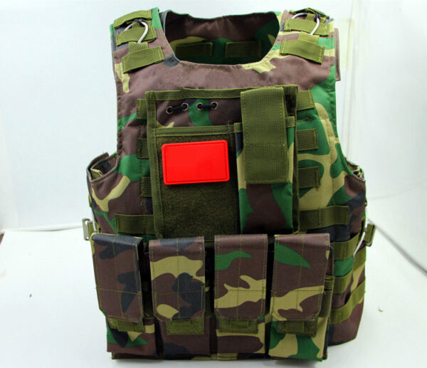 Camouflage Tactical Molle Vest