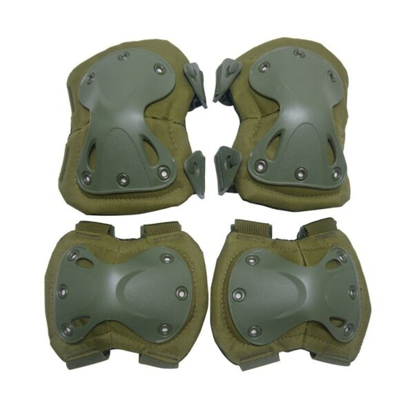 Military Tactical Knee and elbow pads Protection Green