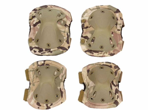 Military Tactical Knee and elbow pads Protection Multicam