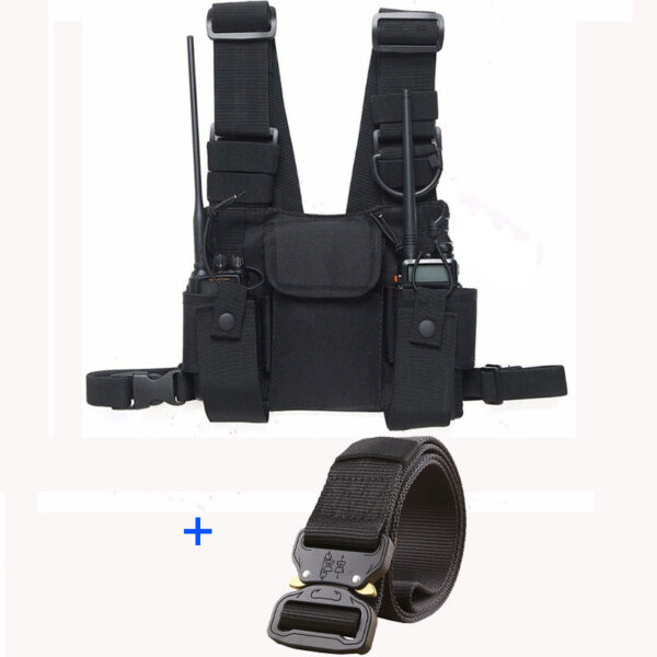 Walkie-talkie Hand Vest Chest Rig