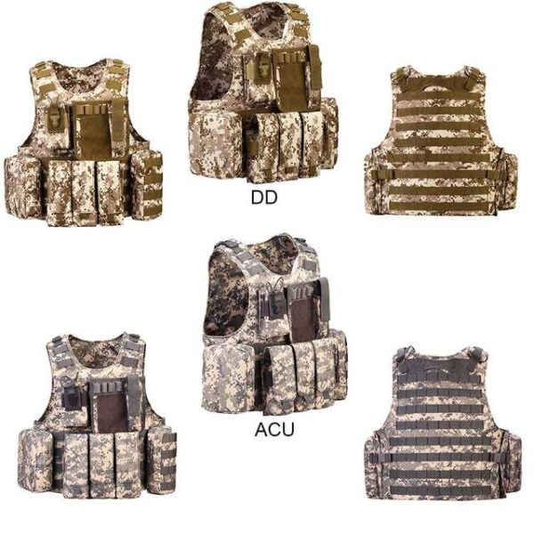 Professional Tactical Vest Plate Carrier camouflage