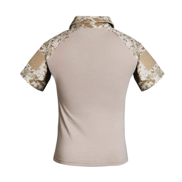 Military T-shirt Special Forces short sleeve Universal Camouflage Pattern