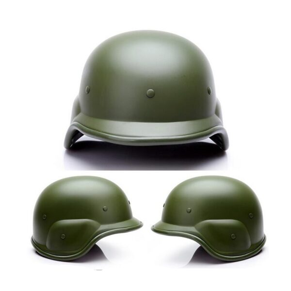Color green Tactical M88 ABS Helmet with Adjustable Chin Strap
