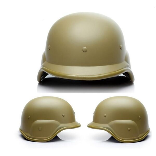Green Tactical M88 ABS Helmet with Adjustable Chin Strap