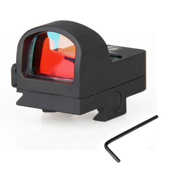 Tactical Red Dot Scope 2 MOA Red Dot Sight 20mm Waterproof Shockproof